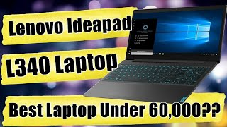 Lenovo IdeaPad L340 Gaming Laptop - Best Budget Gaming Laptop Under 60000 - Nvidia 1650 version