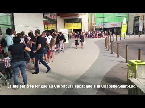 Casting Au Magasin Carrefour De La Chapelle-Saint-Luc