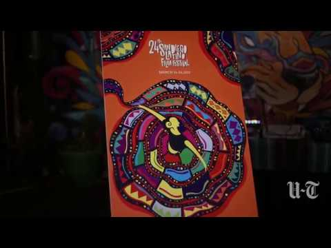 San Diego Latino Film Festival Poster Winner | San Diego Union-Tribune