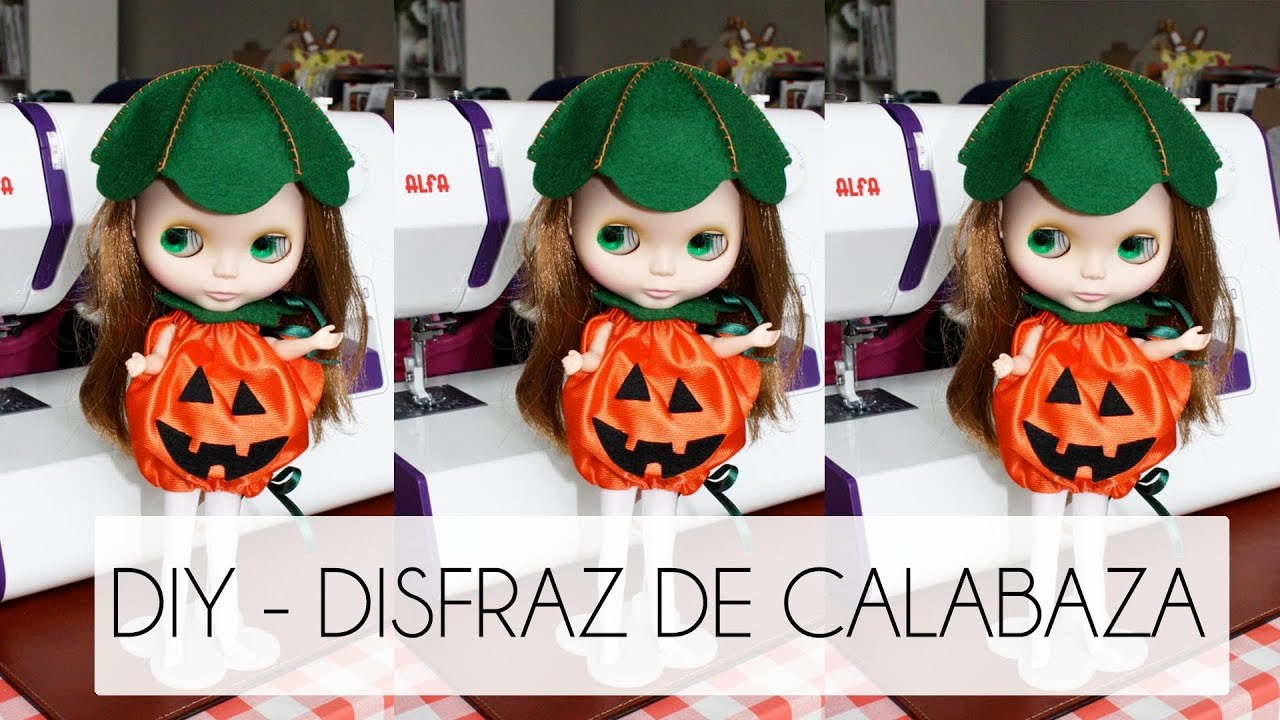 Tutorial como hacer un disfraz calabaza halloween - Trajes de calabaza ...