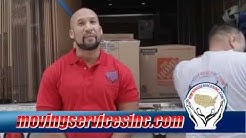Quality Moving Services in Florida & Texas | Moving Services Inc.