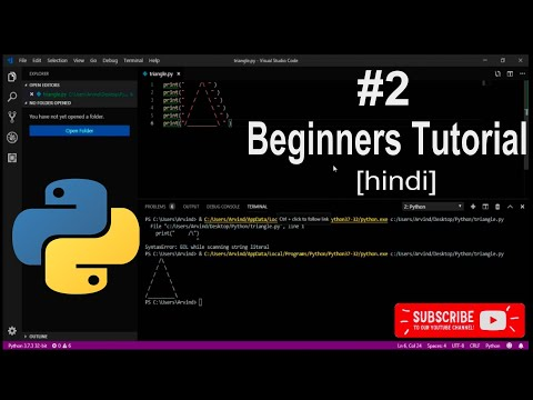Python tutorial for beginners #2 - basic programming tips [hindi] thumbnail