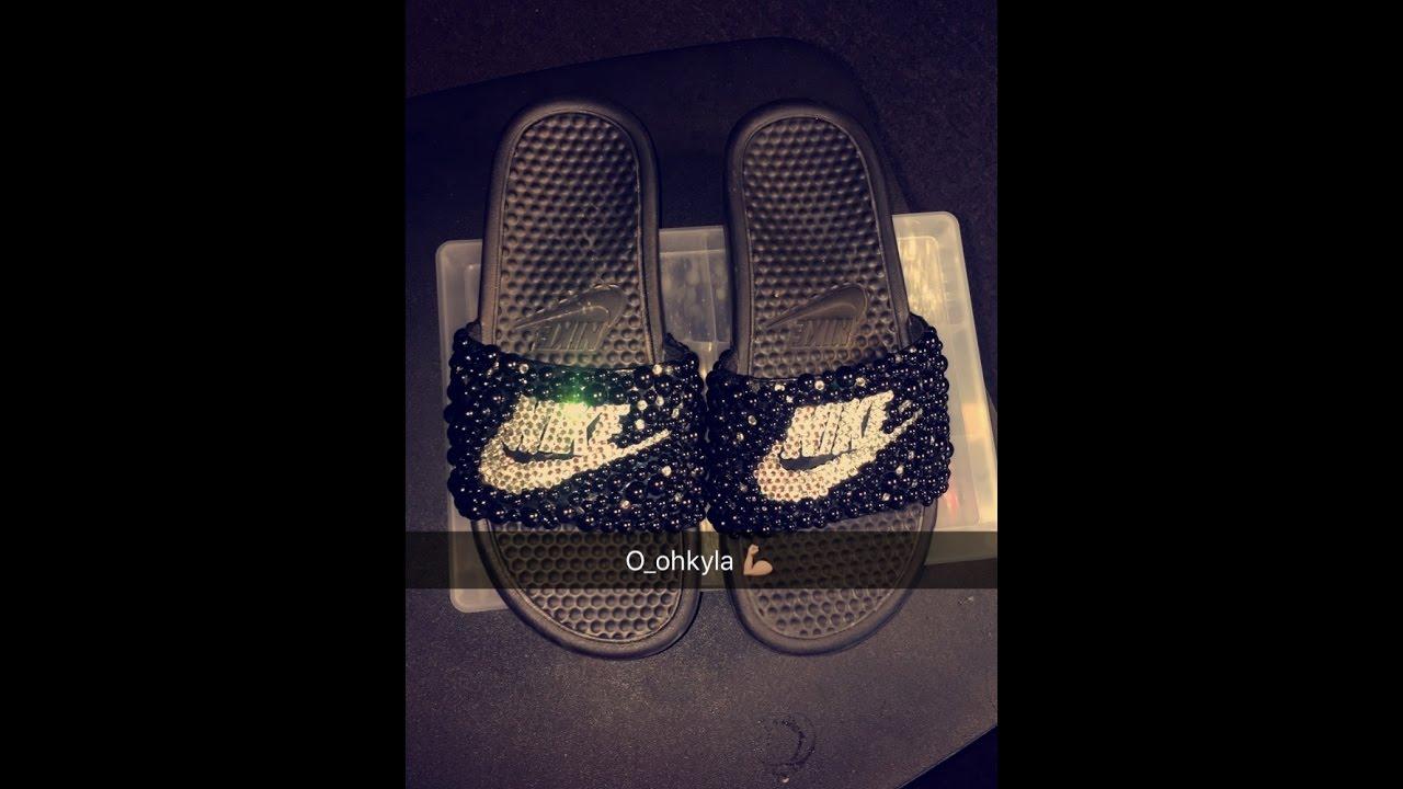 e7a064db1da1f Diy Custom Nike Slides