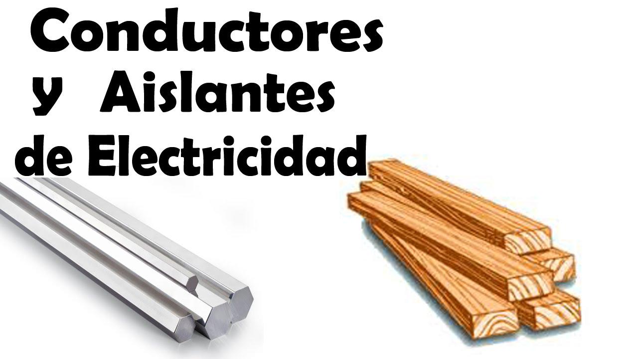Conductores y aislantes el ctricos youtube - Materiales aislantes termicos ...