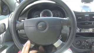 Лачетти, трудно крутится руль с заеданием. Установка крестовины ВАЗ 2105 на Лачетти.