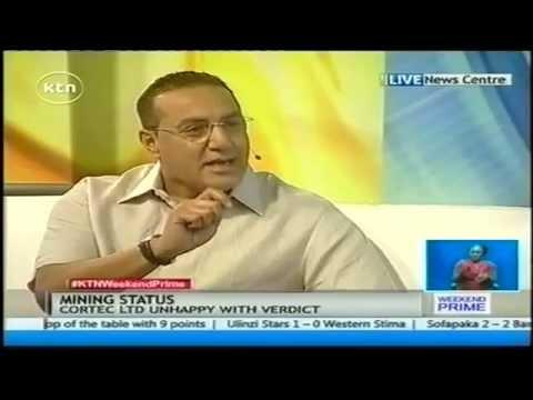 Mining Status interview with Mining Cabinet Secretary Hon. Najib Balala