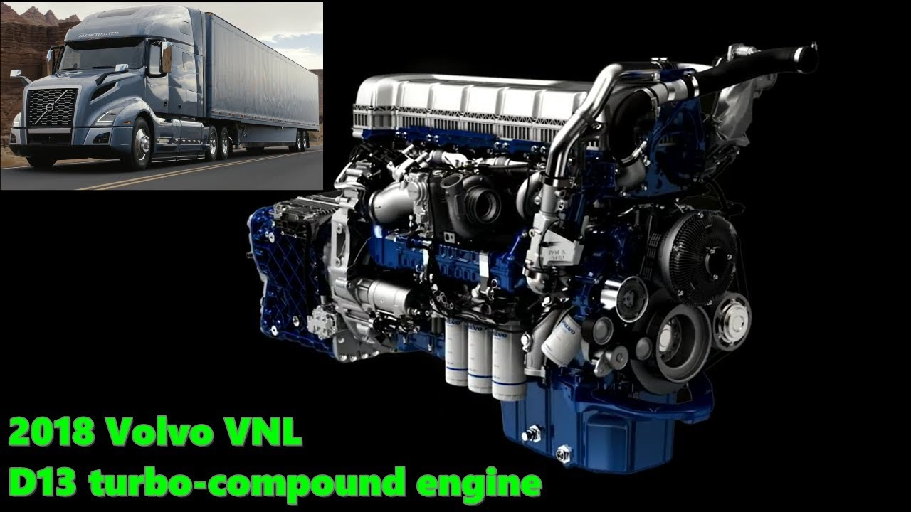 The new 2018 Volvo VNL: D13 turbo pound engine  YouTube