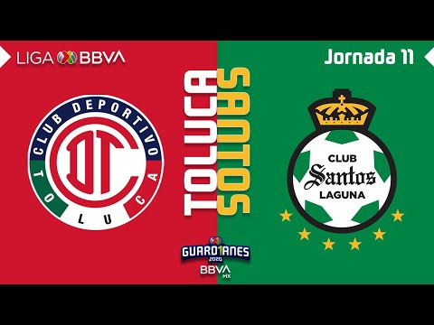 Toluca Santos Laguna Goals And Highlights