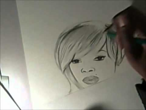 Mary J. Blige Speed Sketch