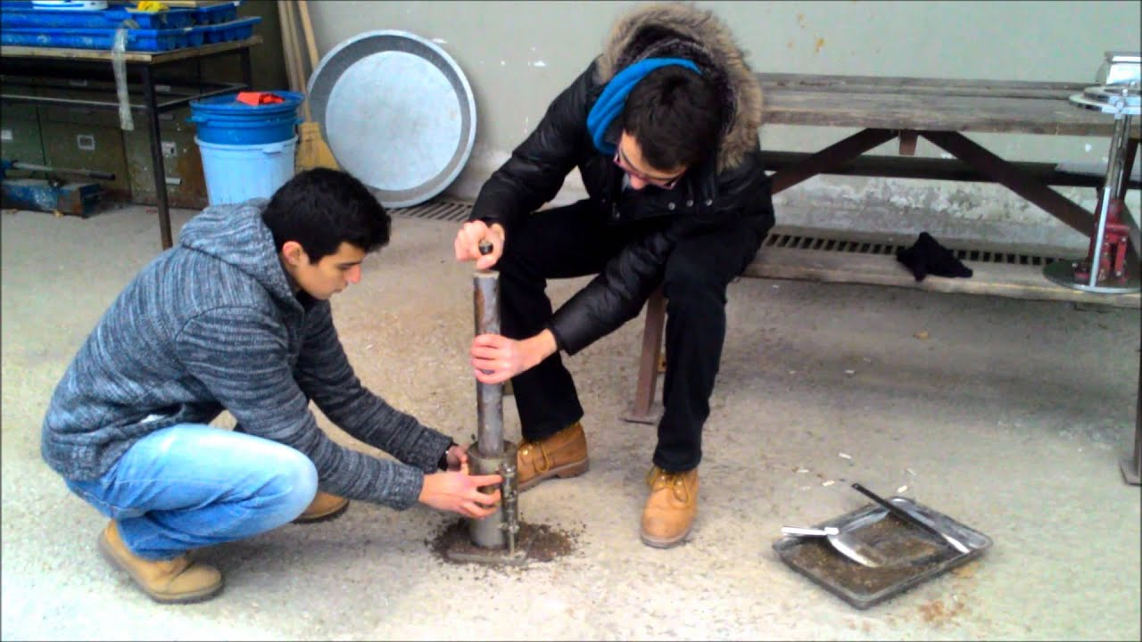 Soil Mechanics Laboratory Tests Standard Proctor Compaction Test