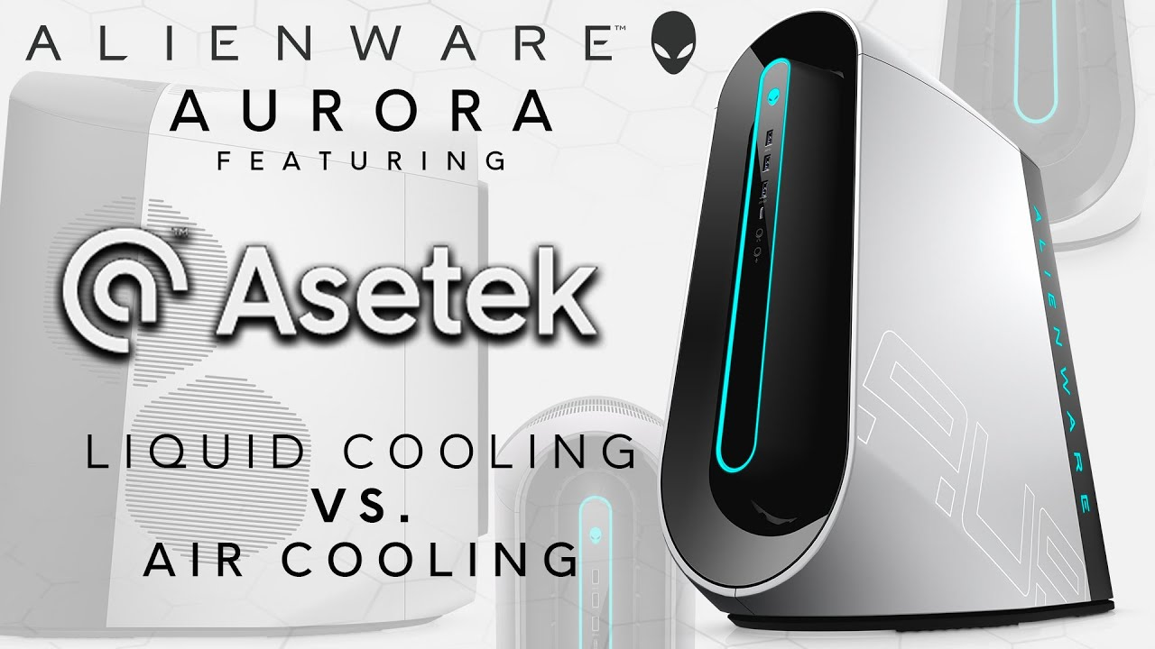 Asetek Liquid Cooling Cpu Pump Vs Air Cooling Performance