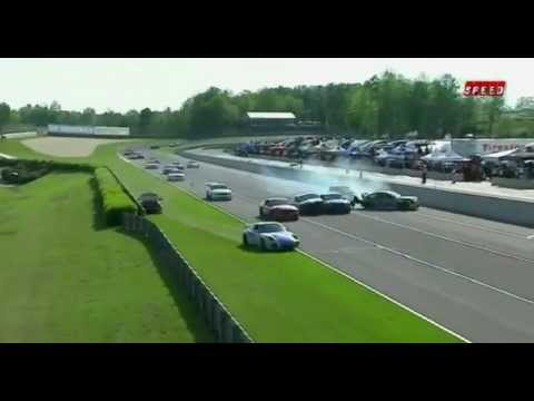 GRAND-AM Road Racing Crashes 2012 part1