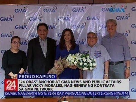 24 Oras: Vicky Morales, nag-renew ng kontrata sa GMA Network