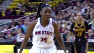 nmsu womens basketball 2016 intro