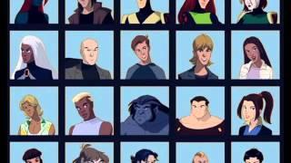 X-Men Evolution Theme (Without SFX)