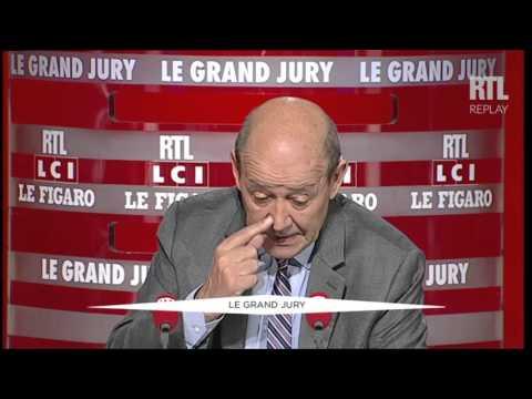 Le Grand Jury du 31 janvier 2016 avec Jean-Yves Le Drian - 2e partie