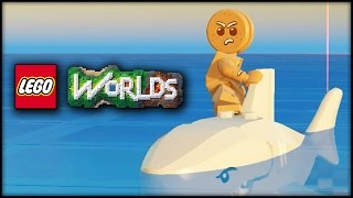 LEGO WORLDS! EPISODE 14 - SHARKZ! OCTOPUS! & STINGRAYS!