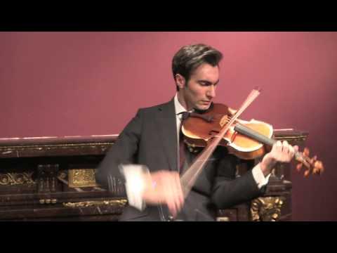 Ecoutez le Stradivarius le plus cher du monde jouer les Asturias d'Albeniz