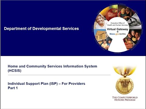 ISP Training for Providers Part  1