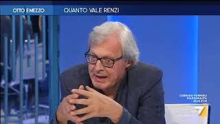 """Vittorio Sgarbi su Italia Viva: """"Insopportabile questo abuso della parola Italia ma Renzi è ..."""