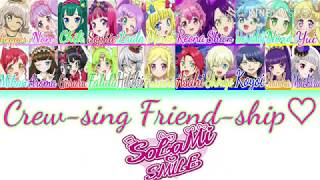 PRI-Crew Friends - Crew-Sing! Friend-Ship