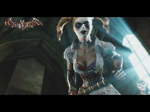 Zsasz Boss Fight - Harley Quinn Takes The Warden - Batman Arkham Asylum (#BatmanArkhamAsylum)
