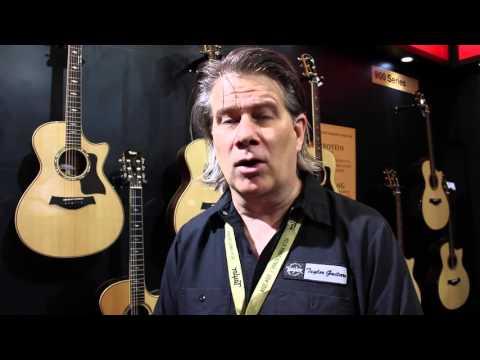 Taylor Guitars' Andy Lund at Music China 2015