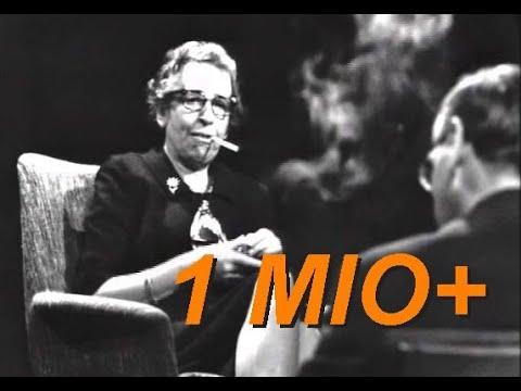 """Hannah Arendt im Gespräch mit Günter Gaus (""""Zur Person"""", 1964)"""