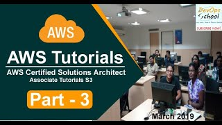 AWS Certified Solutions Architect Associate Tutorials   March 2019   S3   Part 3
