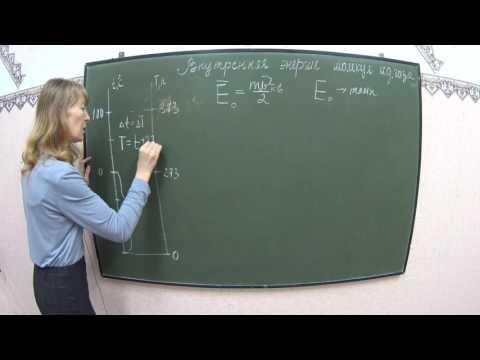 Физика . Внутренняя энергия молекул идеального газа. МКТ