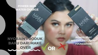 First Impression Make Over Power Stay Foundation & Power Skin Water charge