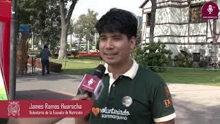 Tema:San Marcos presente el II Encuentro Nacional de Voluntariado