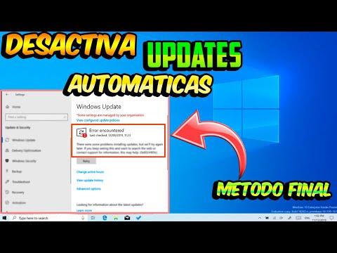 🚫 DESACTIVAR UPDATES Automaticas - WINDOWS 10 2020 / SUPER Metodo FINAL!