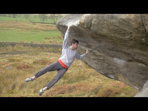 WORLDS HARDEST BOULDER (if you are 5ft and a peanut!!!)