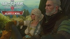 The Witcher 3 Blood and Wine Ciri Ending / Visits Geralt's Vineyard