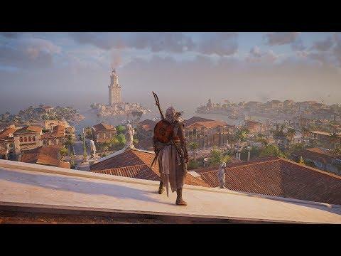 PS4 Assassin's Creed Origins Alexandria Free Run #1