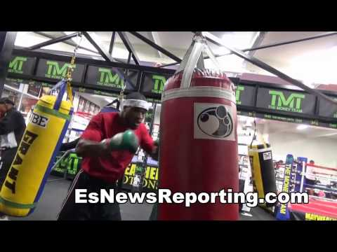 OHIO BOXING STAR AT MAYWEATHER BOXING CLUB - EsNews Boxing