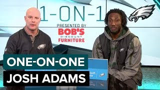 Josh Adams Not Taking Opportunity For Granted | Eagles One-On-One
