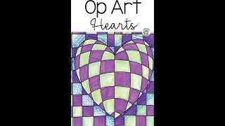 OpArt Hearts