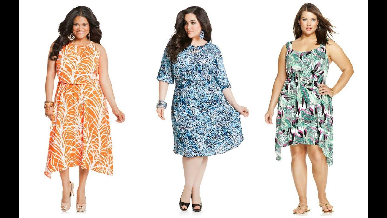 Imagenes de vestidos para gorditas casuales