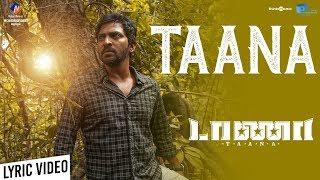 Taana | Taana Song Lyric Video | Vaibhav, Nandita | Vishal Chandrashekar | Yuvaraj Subramani