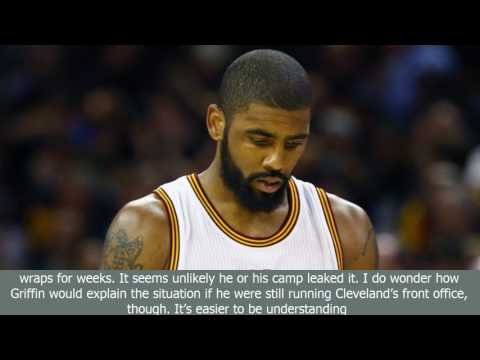 [BreaKingNews]Former cavaliers gm david griffin: kyrie irving's trade request courageous