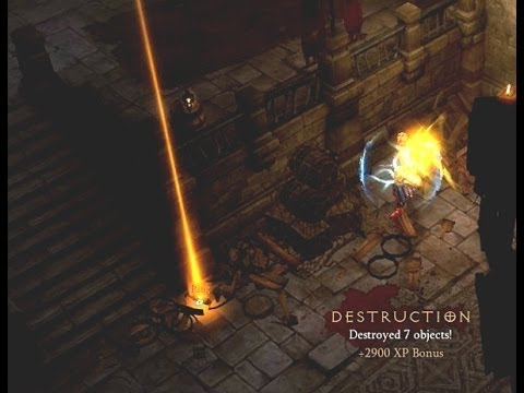 Diablo 3 RoS - Getting Legendary Ring From A Destroyed Object - NAGELRING