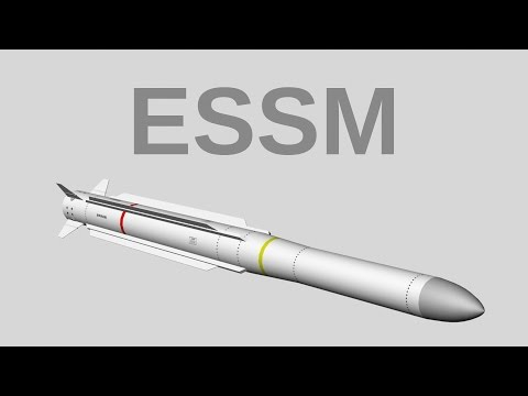 ESSM - Evolved Sea Sparrow Missile (RIM-162) US Navy