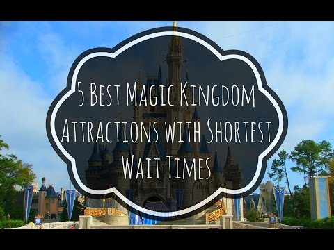 5 Best Magic Kingdom Attractions with Shortest Wait Times