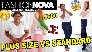 FASHION NOVA HAUL 2020 | $600 FASHION NOVA PLUS SIZE HAUL \u0026 SIZE COMPARISON