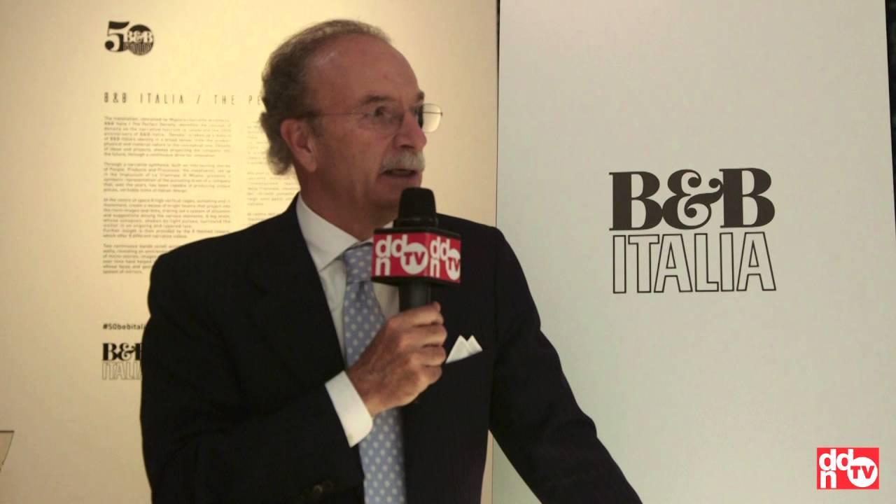 Giorgio busnelli b b italia triennale milano youtube for B b italia milano