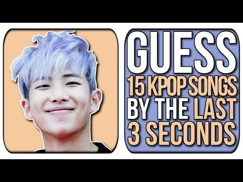 GUESS THE KPOP SONG BY ITS LAST 3 SECONDS! | KPOP Game | Difficulty: Easy