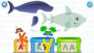 Изучаем АЛФАВИТ и ЖИВОТНЫХ / Русская Азбука для малышей | Развивающие мультфильмы для детей