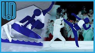 Durante la ceremonia de inauguración de los Juegos Olímpicos de Tokio 2020 se hizo la presentación de los 50 deportes que serán parte de la competición de manera creativa